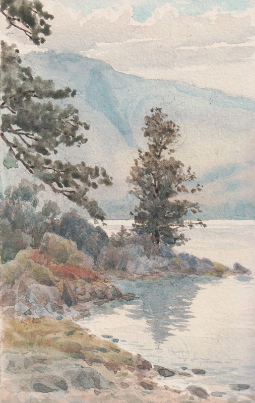 Derwentwater, August 1896