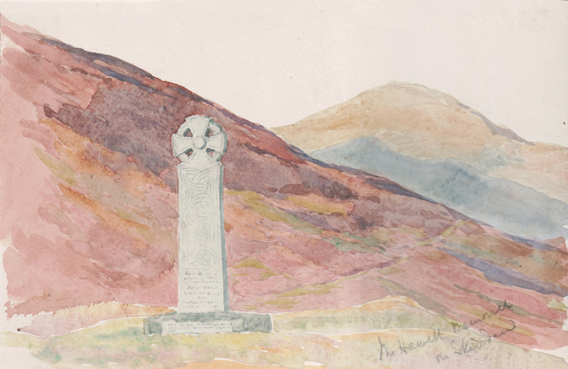 Joseph Hawell Memorial on Skiddaw